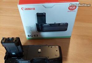 Punho Batery Grip Canon BG-E3 Novo