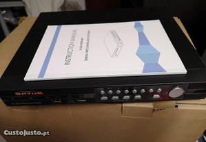 DVR CCTV H264 Network SAVUS 8 Canais +Som+5 camara