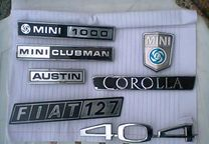 Símbolos de automóveis antigos