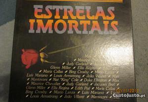 Caixa de 8 discos de vinil