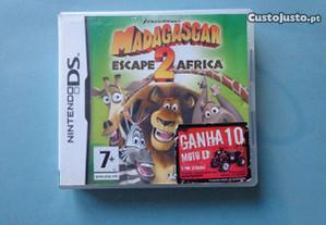Jogo Nintendo DS - Madagascar 2 Escape Africa