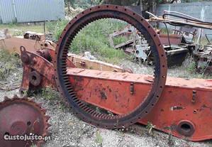 Cremalheira roda de giro Escavadora Giratória O&K