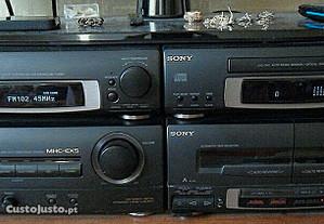 Sistema de Som Hifi - MHC - EX5 Sony Profissional