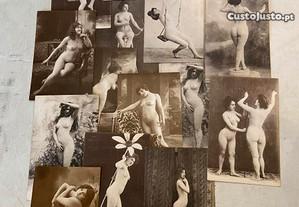 Conjunto de postais Belle Epoque