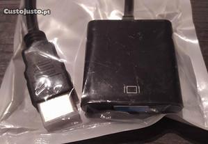 HDMI para VGA adaptador