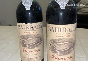 Barrocão Bairrada reserva 1980 vinho tinto antigo