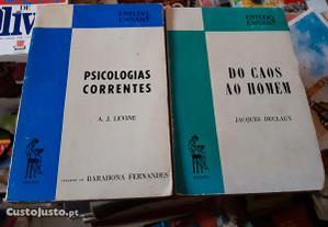Obras de A.J. Levine e Jacques Duclaux