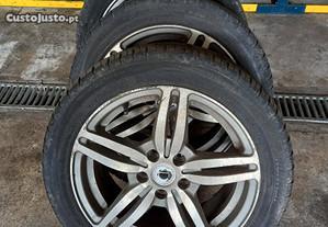 Jantes Seat Ibiza com pneus 195/50/15