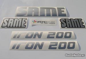 Same Iron 200 Explorer 90 e 110 autocolantes