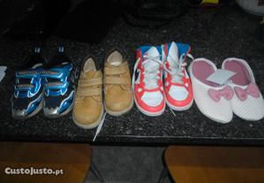 4 pares de calçado como novo preço negociavel