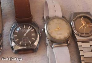 Lote 27 relógios, coleção particular,bom estado