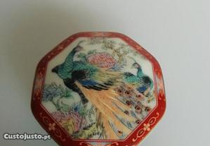 Caixa octogonal Porcelana