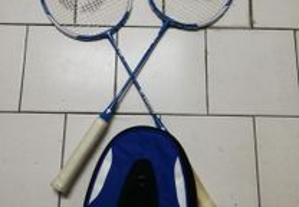 Raquetes de Badminton ORIGINAIS ARTENGO + Bolsa