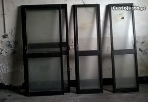 portas de correr em aluminio