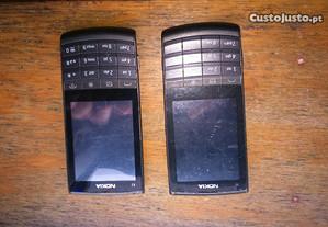 2 Nokias x3-02 pra peças