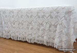 Colcha cama Renda feita à mão