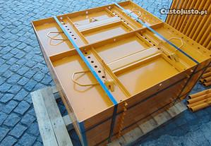 Chapa Metálica para Pilar de 1mts x 0.50 cm