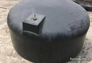 Tanque depósito 3000 lt ABS leve reservatório