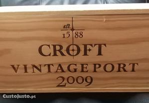 Porto CROFT Vint. 2009 Cx de 6 fechada Port/Grátis