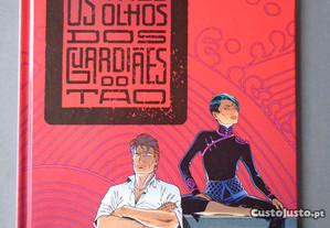 Livro Largo Winch - Os três olhos dos Guardiães do