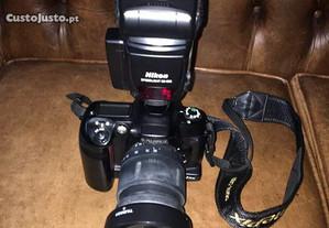 Maquina Fotografica Fujifilm FS1pro e Flash Nikon