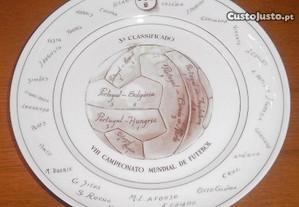 Prato da Vista Alegre Comemorativo Mundial 1966