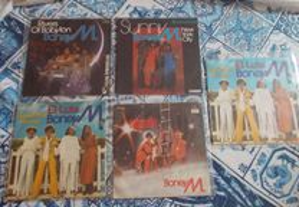 Boney M 5 discos vinil