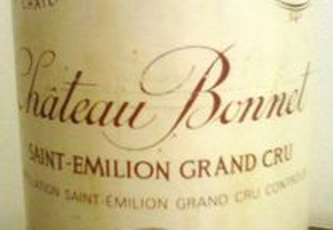 Vinho Chateau Bonnet 1989