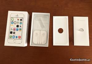 Caixa Iphone 5S Branco Original