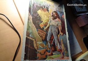 Livro Conde Monte Christo Muito Antigo Of.Portes