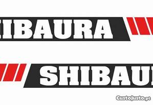 Autocolantes Shibaura SP2540