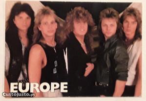 Postal EUROPE, anos 80