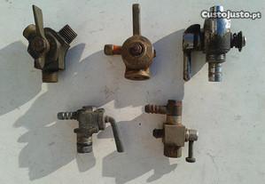 Torneira depósito motor rega, motorizada, etc.