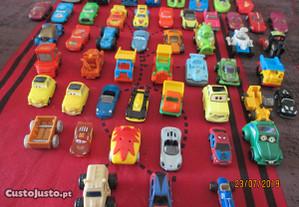 50 micro miniaturas de carros