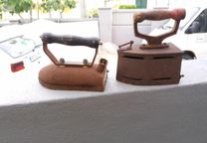 Ferros de engomar colecção antigos/vintage