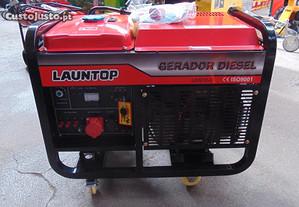 Gerador Launetop 12KWa a Diesel de 2 Cilindros