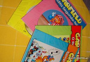 4 livros garfield
