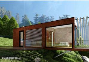 T2 45+5 m2 casa contentor