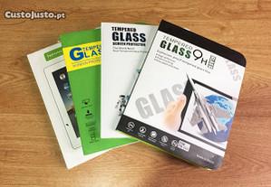 Película de vidro temperado para iPad (Vários)
