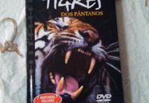 DVD e livro tigres dos pântanos