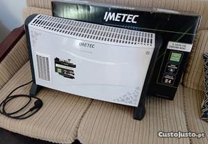 aquecedor elétrico da marca imetec ,como novo