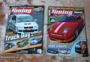 Revistas Tuning & Car Audio e Stand em Revista