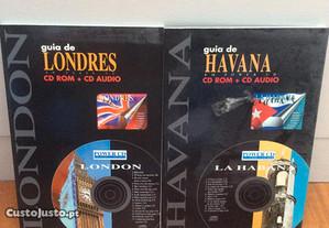 Conjunto de guias d e Havana CD ROM + CD audio