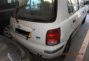 Nissan Micra K11 , 1.0, 5 portas, 1998 , peças