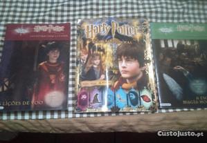 Conjunto 2 Livros e Caderneta Harry Potter