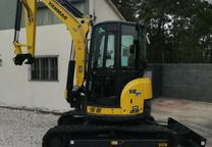 Mini escavadora/giratória -Yanmar Vio 50 U