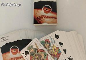 Dois baralhos de cartas