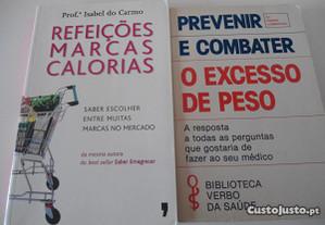 2 Livros de dietas e combate ao excesso de peso