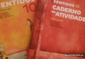Sentidos 10 + caderno de atividades Português