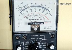Multimetro Hioki Analogico CO. LTD, Model AS-100D